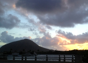 Koko Crater at dawn