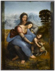 Virgin and Child with St. Anne by Da Vinci