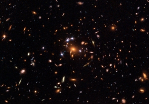 Looking at LOTS of distant galaxies