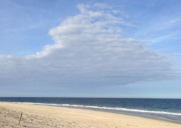 The Atlantic Ocean off of Cape Cod