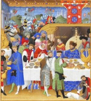 The court of the Duc de Berry