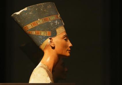 Queen Nefertiti at the Neues Museum in Berlin