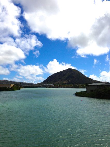 I get a new view of Koko Crater