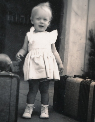 Margie Anne at maybe 14 months