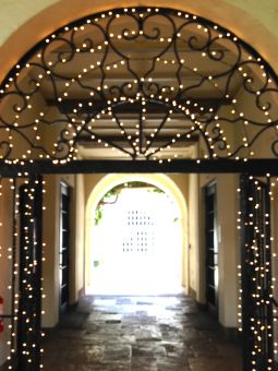 Another courtyard at the Honolulu Museum of Art