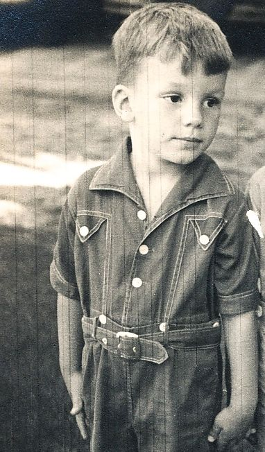 My wonderful husband as a very young boy