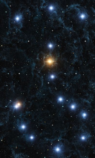 The constellation Scorpio