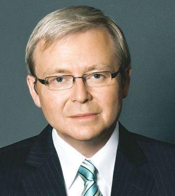 Kevin Rudd former Prime Minister of Australia