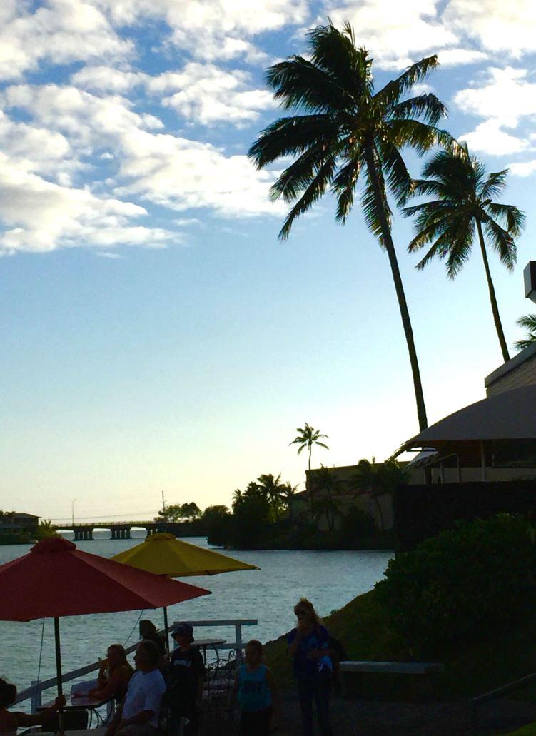 a walk around the marina waterfront in Hawaii Kai